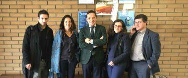 Tiago, Goreti, Cita y Carlos, responsables del proyecto.