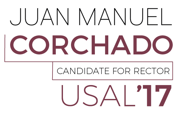Juan Manuel Corchado - Candidature to the Rectorate of the University of Salamanca